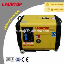 Super silencioso Mini silencioso diesel gerador de ar arrefecido 50hz / 60hz