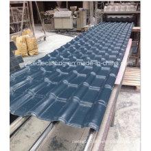 Painel de telhado de telha vitrificada de plástico para mercado grossista