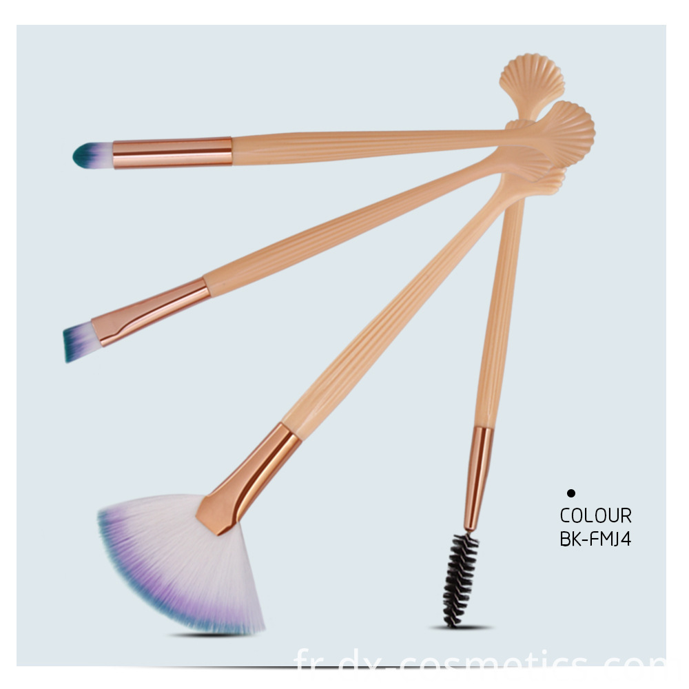 4 Pieces Makeup Brushes Sets 3