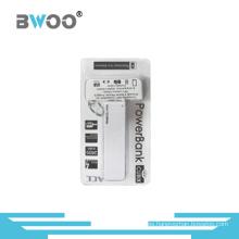 Pequeño banco portable de la energía 2600mAh con el certificado de FCC de la CE