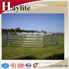 paneles de puesto de caballo portátil galvanizado para la venta