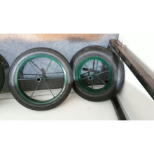 Wb3800 Green Colour with 13*3 Rubber Solid Wheel Africa Wheelbarrow