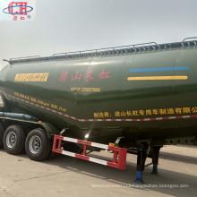 Semi-trailer for coal transportation