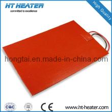 Aquecedores de silicone flexíveis