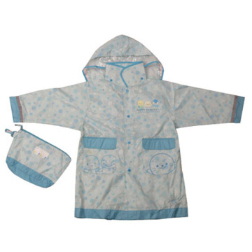 Children's pu Raincoat