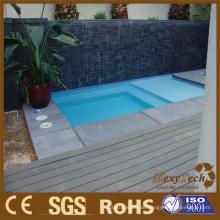 Heißer Verkauf WPC-Terrassendach für Swimmingpool, Bodenbelag-Fliesen im Freien