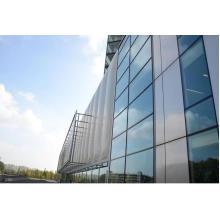Glass & Aluminum Curtain Wall