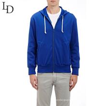 Custom design men hooded lace-up sweatshirt men