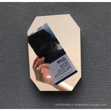 Kit de moldura de espelho de metal óptico