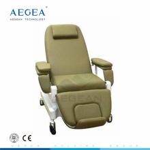 AG-XD206A hôpital de chaise de collection de sang champion utilisé avec IV stand