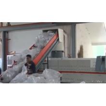 Máquina granuladora de plástico para fabricar gránulos de PVC