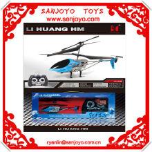 HTX085B-1 regalo de Navidad hotsale !! JUGUETES rc helicóptero juguete helicóptero motor 3ch
