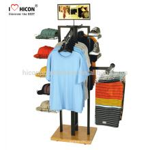 Kontaktieren Sie uns heute zu lernen, was wir helfen können Garment Shop Hut Kleidung Hanging Retail Store Display Unit Bekleidung Display Racks
