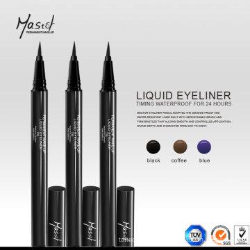 Eyeliner liquide imperméable pour la conception de maquillage permanent