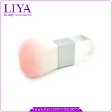 Beauty Product Logo Accepted Acrylic Handle Square Kabuki Brush