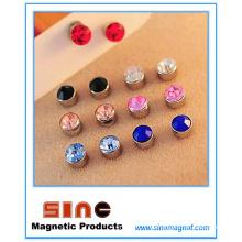 Forme el clavo magnético fuerte del oído para ningún oído perforado