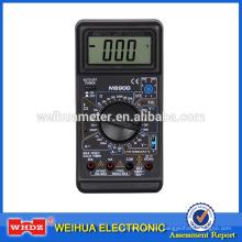 Multímetro digital popular con M890G con prueba de capacitancia de frecuencia Buzzet