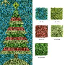Árbol de navidad artificial festivo decorativo de DIY 1 * 3M para la pared