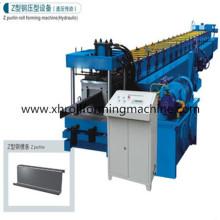 Machine hydraulique de formage de rouleaux en poudre en forme de Z en poudre