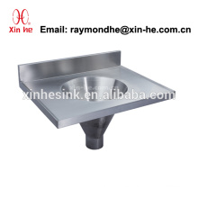Stainless Steel Sluice Sink Mop Sink Cleaner Sink with Drain, China Chinese Medical Slop Hopper for Hospital Use