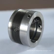 Selo de fole de metal rotativo para compressor