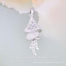 18k белое золото ожерелье ювелирные изделия Дубай ювелирные изделия ожерелье в наличии Родием ювелирные изделия-это ваш хороший выбор