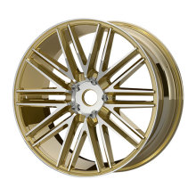 Yellow Color Machine Face Alloy Wheels