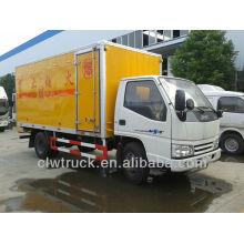 Jiangling 4X2 Противоугонный грузовик для продажи, взрывчатка