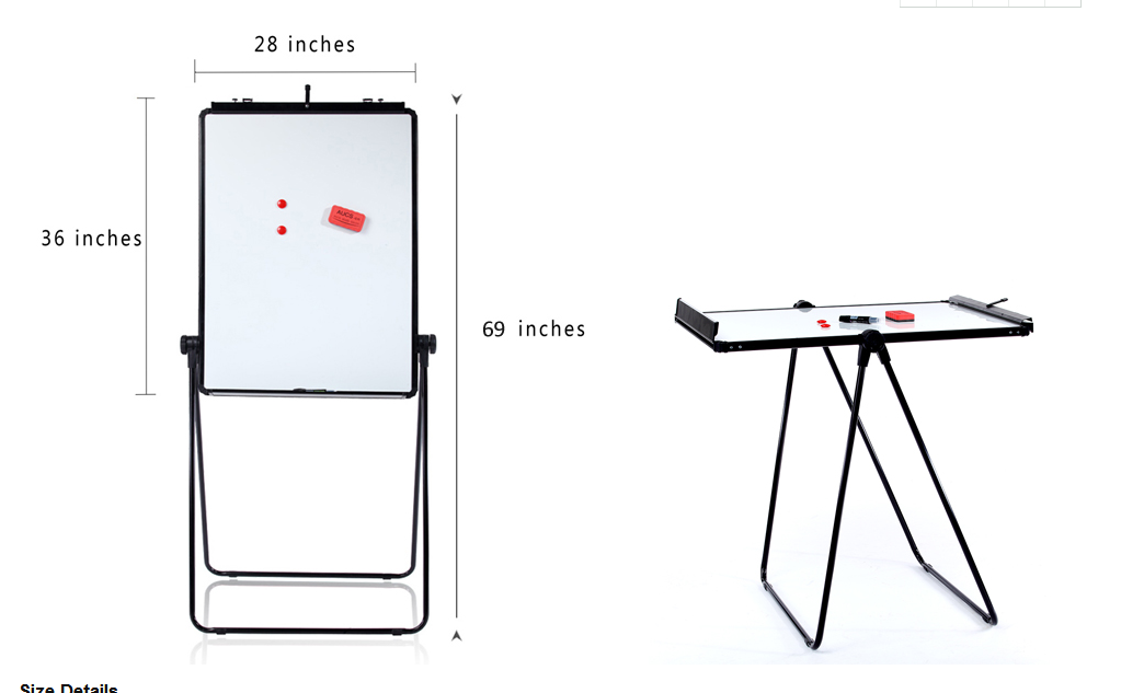 whiteboard to table