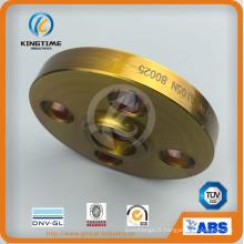 L'acier au carbone A105n glissent sur la bride ainsi bride forgée à ASME B16.5 (KT0402)
