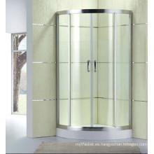 Nuevo diseño de cabina de ducha de vidrio templado simple (D12)