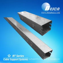 Metal wire duct raceway/wire way channel cable tray