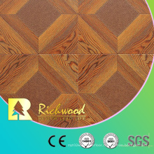 Commercial 12.3mm AC4 White Oak Vinyl Laminate Laminate Wooden Flooring