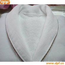 100% Cotton Double Waffle Bathrobe From China (DPF2423)