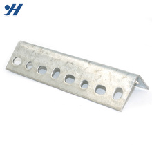 Corrosion Resistance Hot Dipped Galvanized Slotted L steel angle bar angle iron