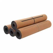 Natural Rubber Yoga Mat cork Yoga Mat Non Toxic Yoga Mat Eco-Friendly Non-Slip Odor Resistant