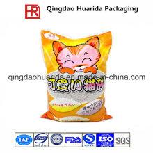 Экономической Сора кота Упаковывая мешок/OEM для кошачьего туалета мешок упаковки