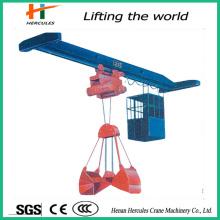 Electric Grab Bridge Crane with Single Beam