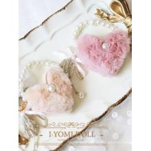 BJD Pink/Beige Lady Handtasche für SD/MSD/YOSD Gelenkpuppe