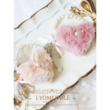 BJD Pink / Beige Lady Handbag para muñeca articulada SD / MSD / YOSD