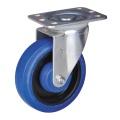 6 '' rodízios de rodas roda de borracha capacidade de 150 kg