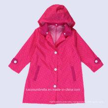 China Wholesale PU Coated Polyester Raincoat
