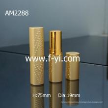 Nuevo diseño personalizado de oro cuadrado de aluminio lápiz labial