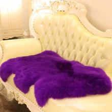 one pelt fur rug long hair Australian sheepskin sofa covers