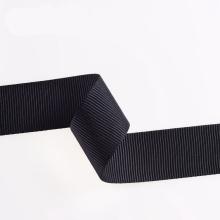 Abrasion Resistance Black Polyester/Nylon/Cotton Strap Webbing with Clips