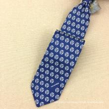 Lazos de seda hechos a mano de la impresión de la pantalla de la tela cruzada de los 18MM corbatas de los hombres