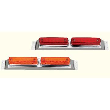 Lámpara de señalización lateral Slime para camiones