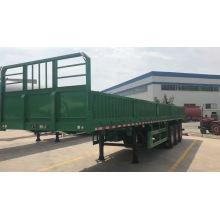 Remolque de carga de 3 ejes con puerta abierta lateral