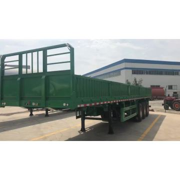 Sidewall Cargo Flatbed Semi Trailer
