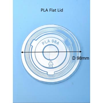 Copo de plástico degradável PLA